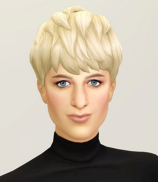 Diana Hairstyle III ~ Rusty Nail for Sims 4
