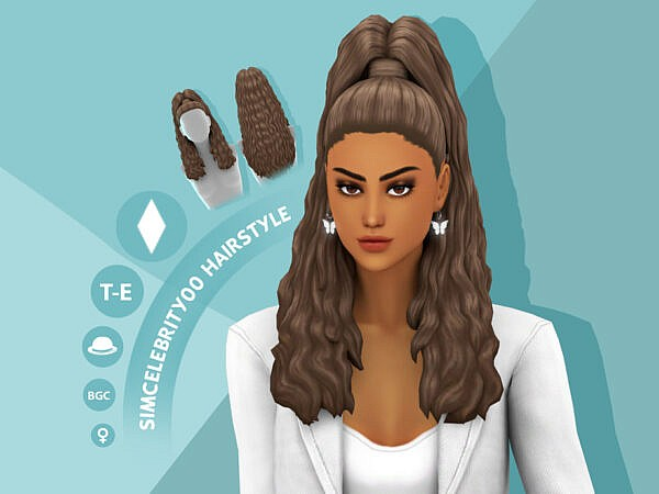 Fallon Hairstyle by simcelebrity00 ~ The Sims Resource for Sims 4