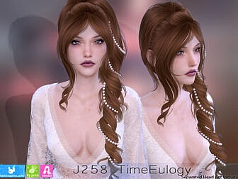 J258 Time Euology Hairstyle