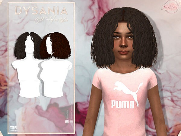 JavaSims  Dysania Hair ~ The Sims Resource for Sims 4