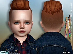 Lukas Hair Toddler by MSQSIMS