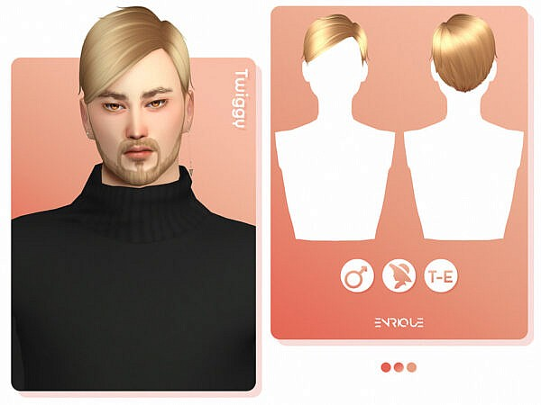 Twiggy Hairstyle by EnriqueS4 ~ The Sims Resource for Sims 4