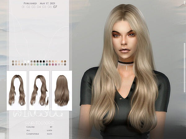 WINGS TO0514 Hair ~ The Sims Resource for Sims 4