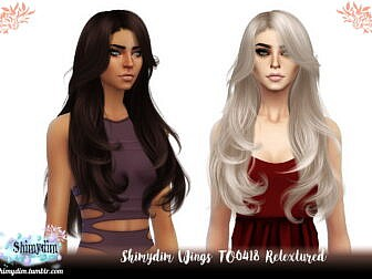 Wings TO0418 Hair Retexture