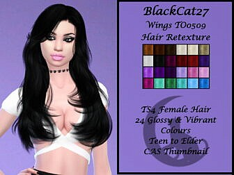 Wings TO0509 Hair Retexture by BlackCat27