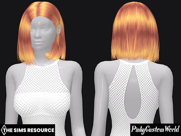 LeahLilliths Evie hair recolor by PinkyCustomWorld ~ The Sims Resource for Sims 4