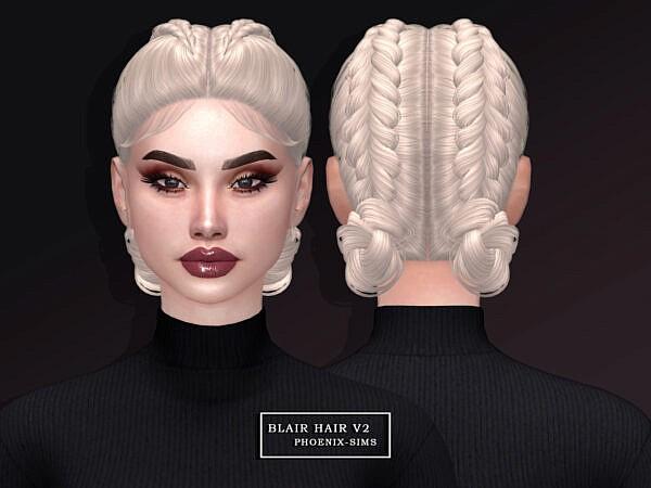 Blair Hair ~ Phoenix Sims for Sims 4