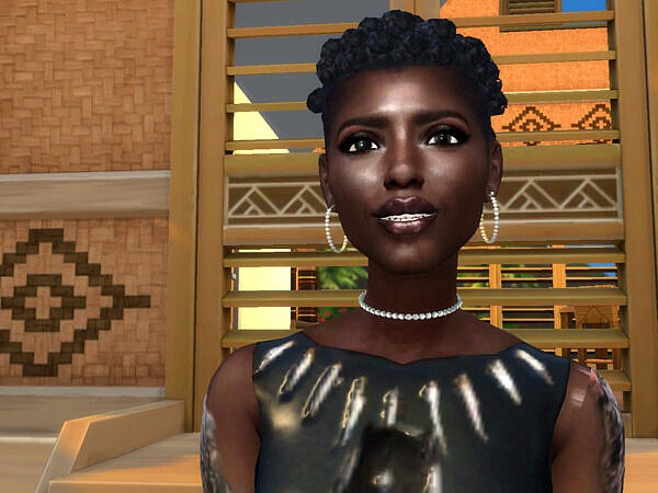 Lupita Hair by drteekaycee ~ The Sims Resource for Sims 4