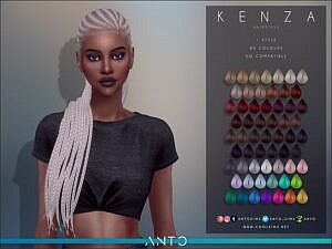 Anto`s Kenza Hairstyle
