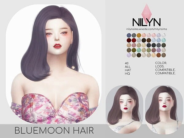 Bluemoon hairstyle
