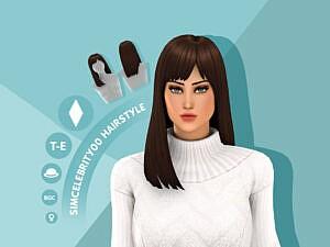 Dakota Hairstyle by simcelebrity00