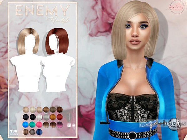Enemy Hairstyle by JavaSims