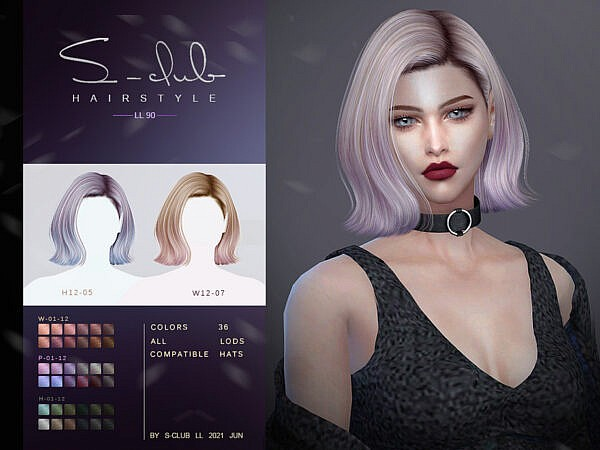 LL Nai N90 by S Club ~ The Sims Resource for Sims 4