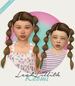 LeahLillith` Keomi Hair Retextured