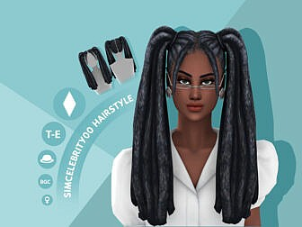 Luna Hairstyle by simcelebrity00
