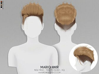 Mario Hairstyle