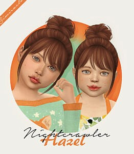 Nightcrawler Hazel Hair Retextured