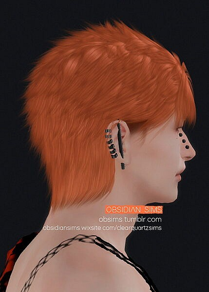 PAINLESS HAIR ~ Obsidian Sims for Sims 4