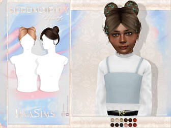 Serendipity Child Hair by JavaSims