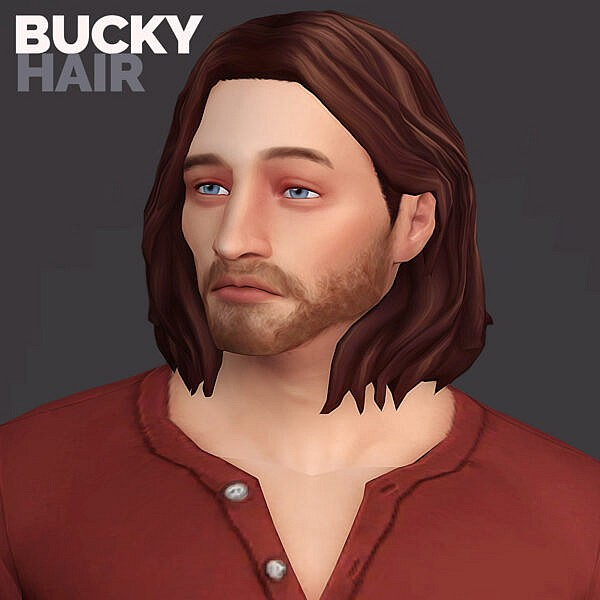 Bucky Barnes Classic Hairstyle by winter soldier ~ Mod The Sims for Sims 4