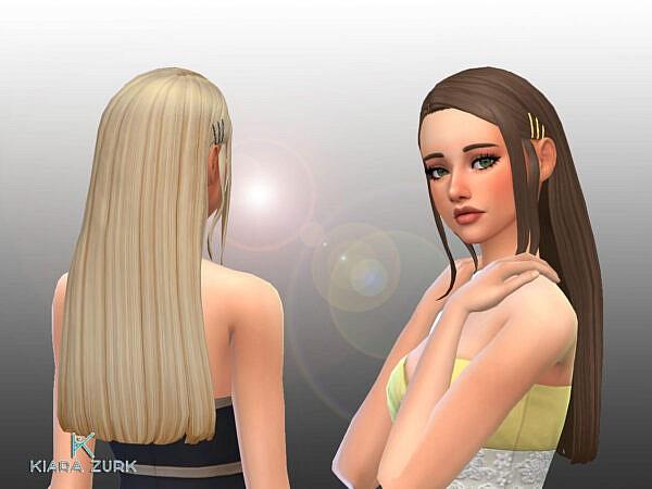 Delia Hairstyle ~ Mystufforigin for Sims 4