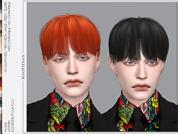 Hotter Hairstyle by magpiesan ~ The Sims Resource for Sims 4