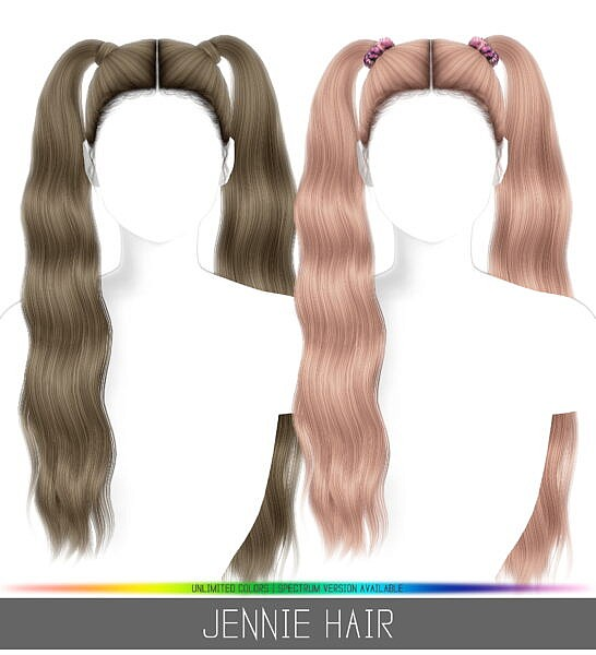 Jenni Hair ~ Simpliciaty for Sims 4