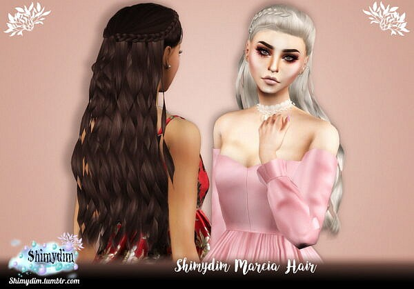 Marcia Hairstyle ~ Shimydim for Sims 4
