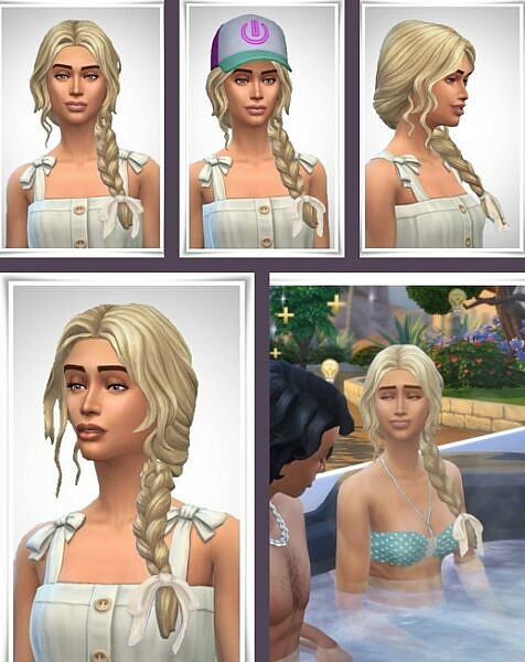 Melody Hair ~ Birksches Sims Blog for Sims 4