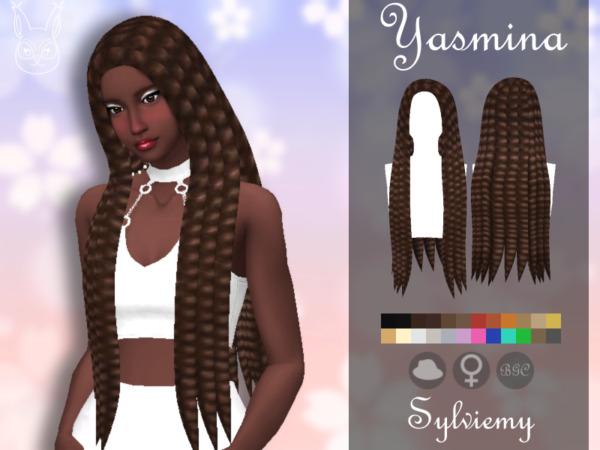 Yasmina Hair ~ The Sims Resource for Sims 4