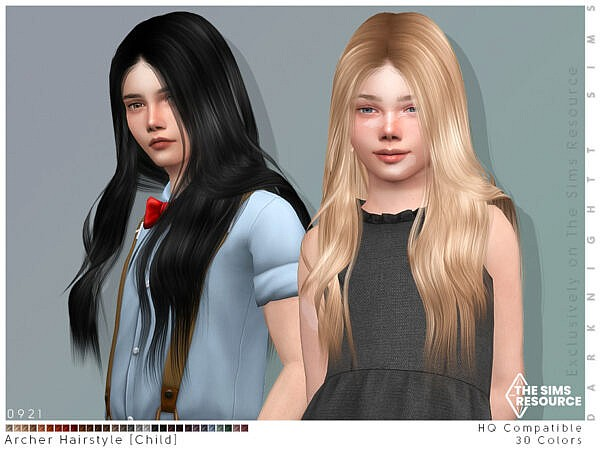 Archer Hairstyle Child ~ The Sims Resource for Sims 4