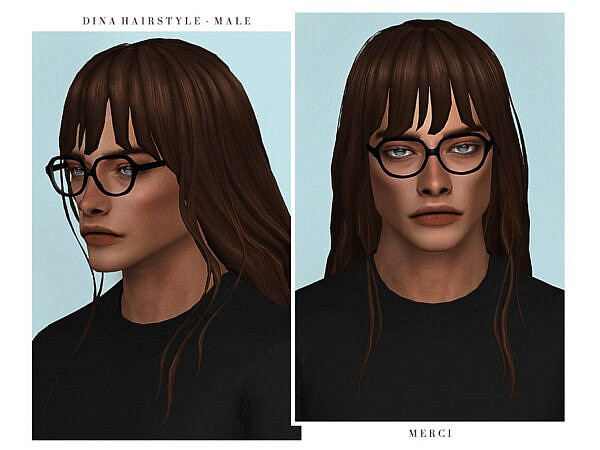 Dina Hair ~ The Sims Resource for Sims 4