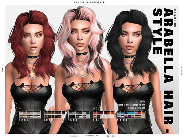 Arabella Hairstyle ~ The Sims Resource for Sims 4