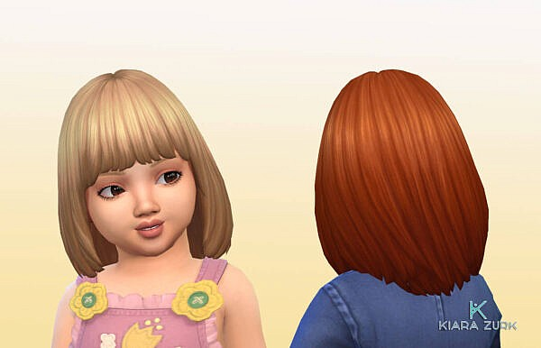 Alyssa Hairstyle ~ Mystufforigin for Sims 4