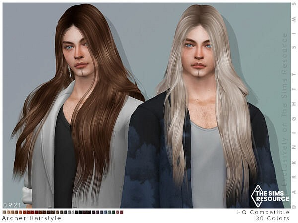 Archer Hairstyle ~ The Sims Resource for Sims 4