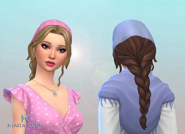 Braid Bandana ~ Mystufforigin for Sims 4