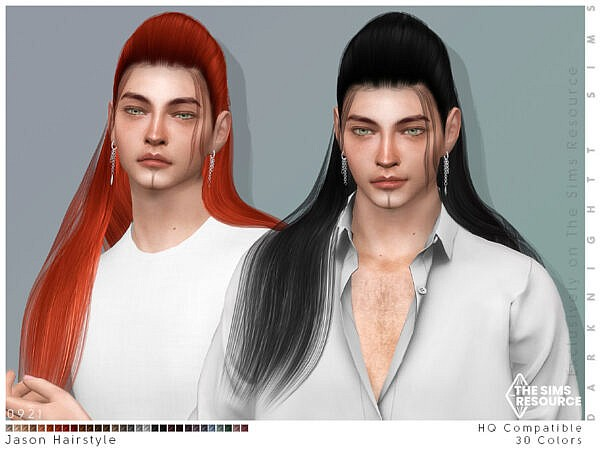 Jason Hairstyle ~ The Sims Resource for Sims 4