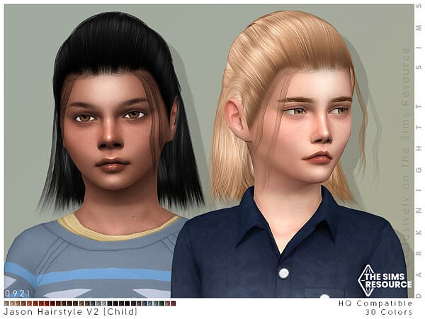 Jason Hair V2 ~ The Sims Resource for Sims 4