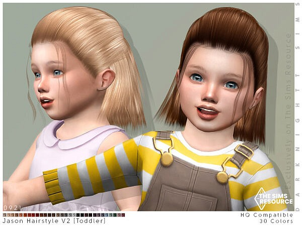 Jason Hairstyle V2 by DarkNighTt ~ The Sims Resource for Sims 4