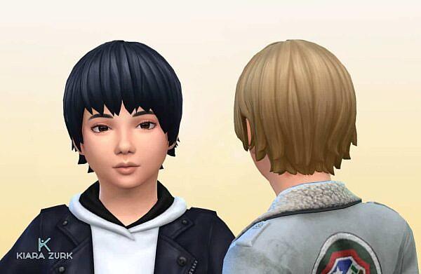 Kiku Honda Hairstyle KB ~ Mystufforigin for Sims 4
