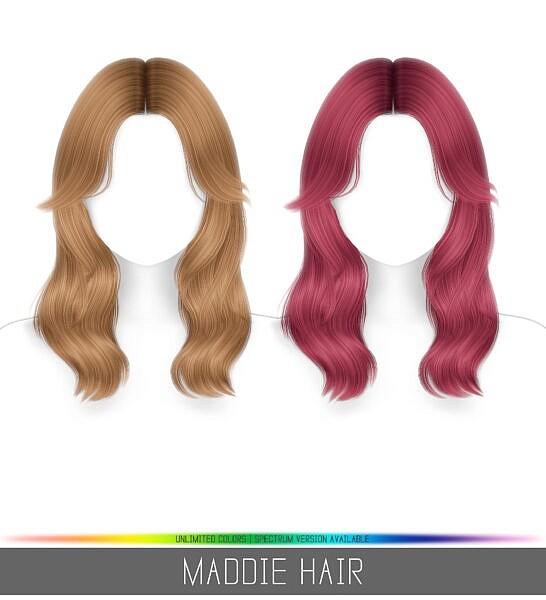 Maddie Hair ~ Birksches Sims Blog for Sims 4