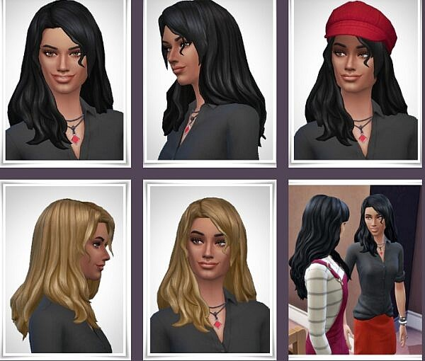 Marthe Hairstyle ~ Birksches Sims Blog for Sims 4