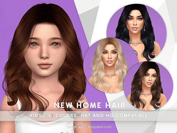 Hair for KIDS ~ The Sims Resource for Sims 4