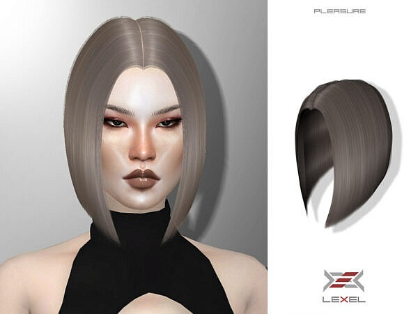 Pleasure Hairstyle ~ The Sims Resource for Sims 4