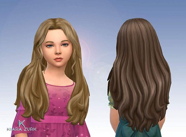 Zarah Hairstyle ~ Mystufforigin for Sims 4