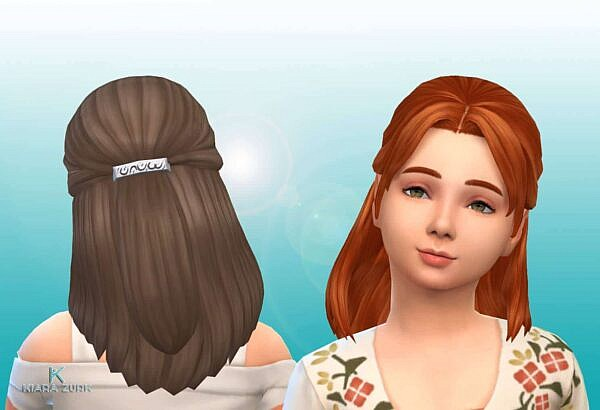 Lilith Hairstyle ~ Mystufforigin for Sims 4