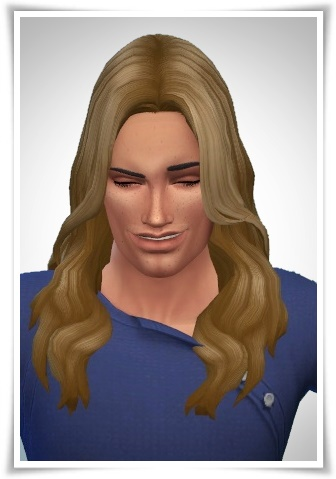 Luca Hairstyle ~ Birksches Sims Blog for Sims 4