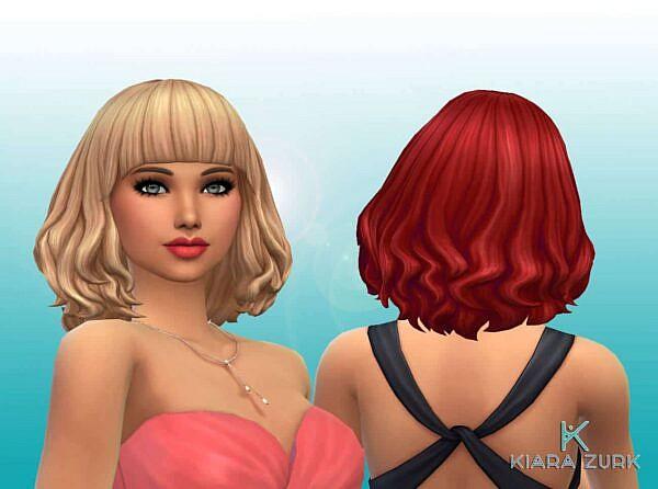 Marina Hairstyle ~ Mystufforigin for Sims 4