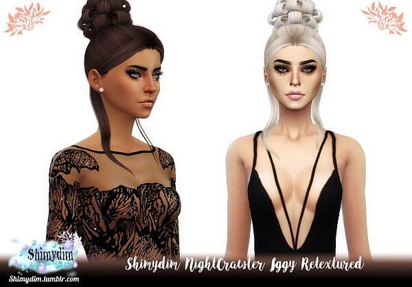 NightCrawler Iggy Retextured ~ Shimydim for Sims 4