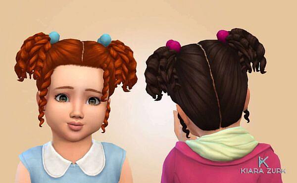 Yuki Hair ~ Mystufforigin for Sims 4